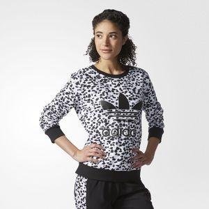 Adidas crew neck sweatshirt Sz XL